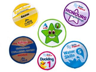 swimming badges