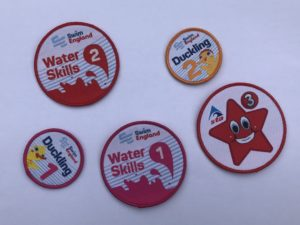 swimming badges