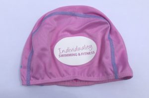 Pink swimming hat